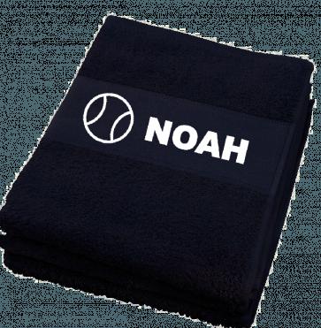 BaW handdoek met naam bedrukt