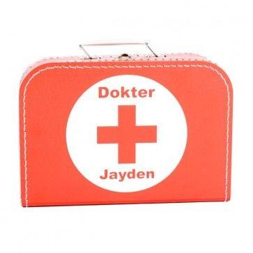 Dokterskoffer met naam