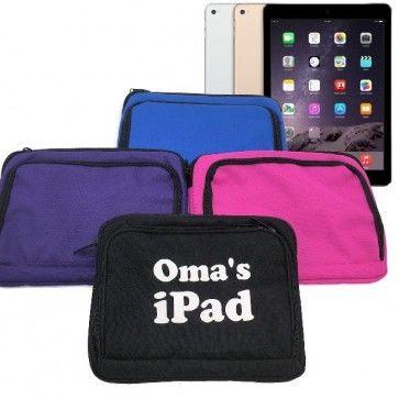 Luxe iPad/Tablet hoesje met naam bedrukt