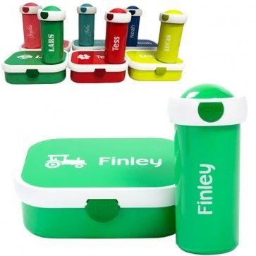 Mepal Lunchbox en Schoolbeker met naam