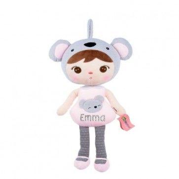 Zachte Koala Pop (metoo doll) met naam bedrukt