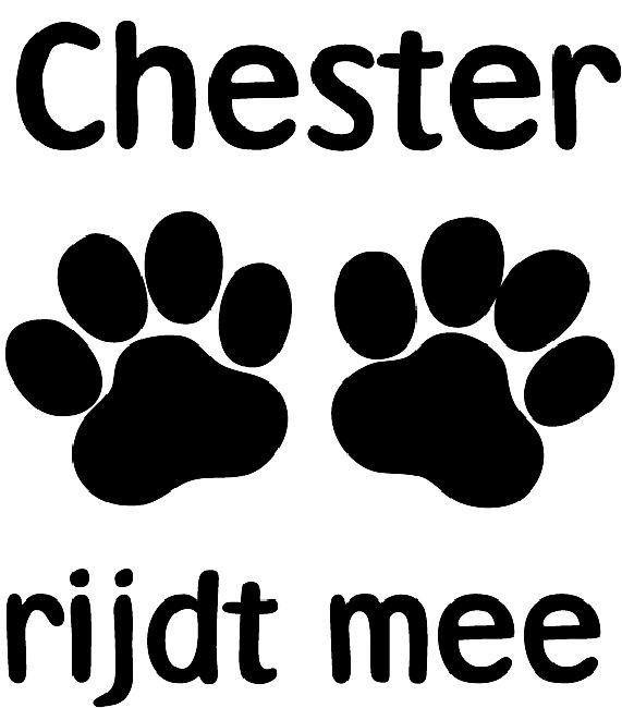 Hond Aan Boord Sticker