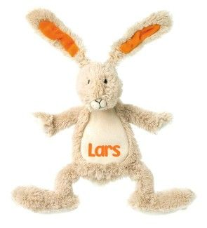 Happy Horse Rabbit Twine Knuffeldoekje met naam bedrukt