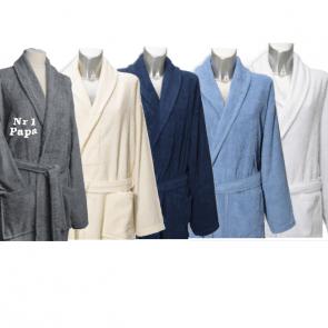 Badjas voor volwassenen, met naam of eigen tekst geborduurd