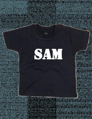 BaW T-shirt korte mouw met naam bedrukt