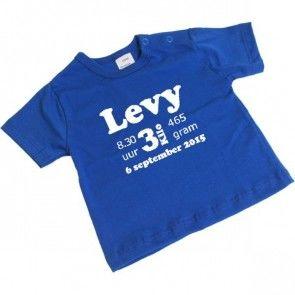 Geboorte t-shirt korte mouw