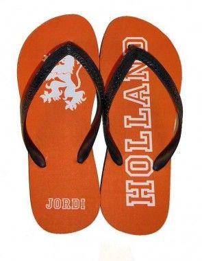Holland slippers met naam