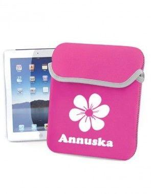 iPad/Tablet sleeve met naam bedrukt