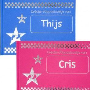 Crèche-/Oppasboekje met naam