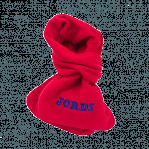 Sjaal  met naam geborduurd