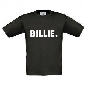 Zwart shirt met naam