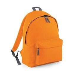 oranje rugzak met naam koter kado