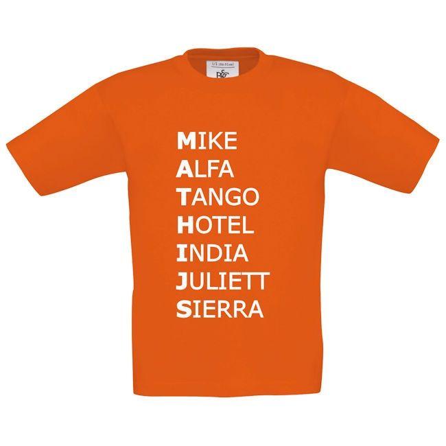 navo alfabet koter kado shirt