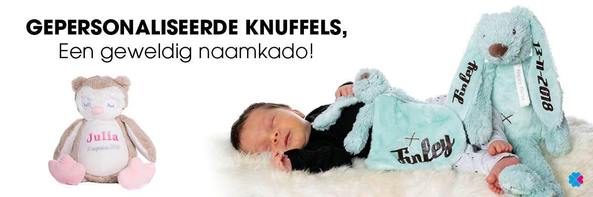 Gepersonaliseerde knuffels een geweldig naamkado