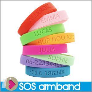 SOS Armbandje met naam