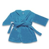 blauwe badjas met naam koter kado