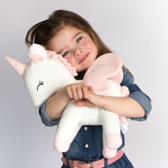 Unicorn eenhoorn metoo knuffel met naam koter kado