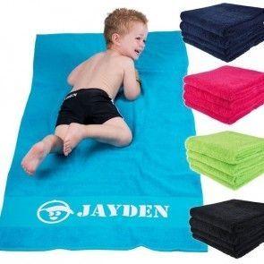handdoek met naam koterkado
