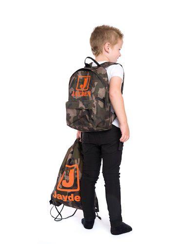 camouflage tas met naam koterkado