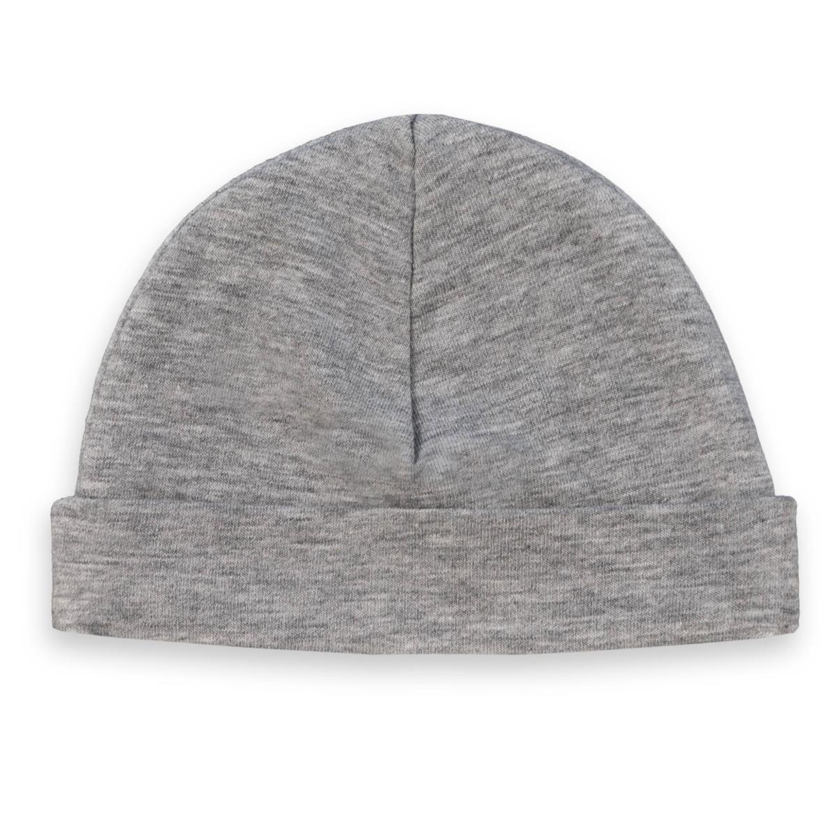 babymuts grijs met naam koter kado