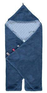 trendy wrapping indigo blue